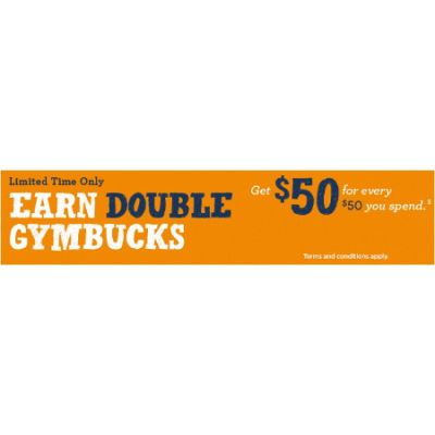 Earn Double GymBucks