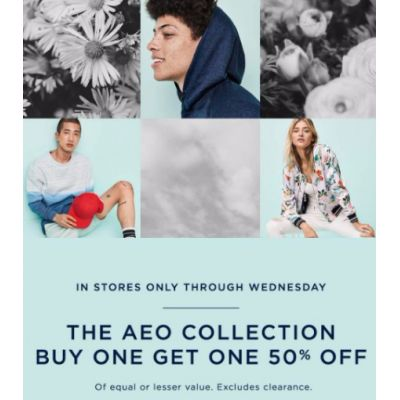 The AEO Collection BOGO 50% Off
