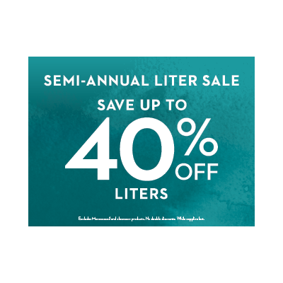 Semi-Annual Liter Sale!