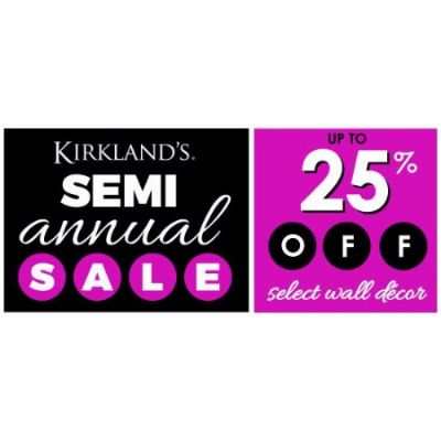Up to 25% Off Select Wall Décor
