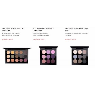 40% Off Select Eye Shadow Palettes