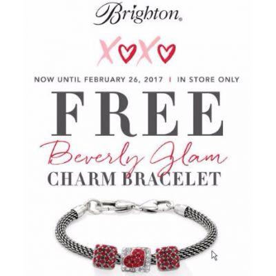 FREE* Brighton Beverly Glam Charm Bracelet