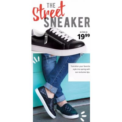 The Street Sneaker as low as $19.99