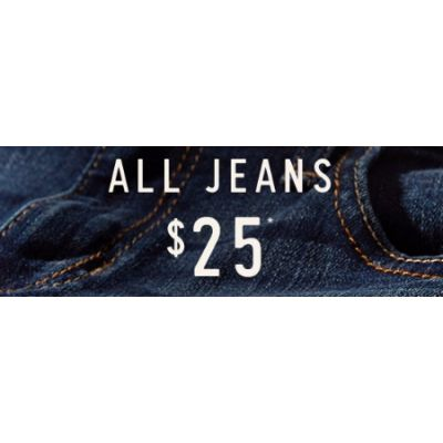 $25 All Jeans