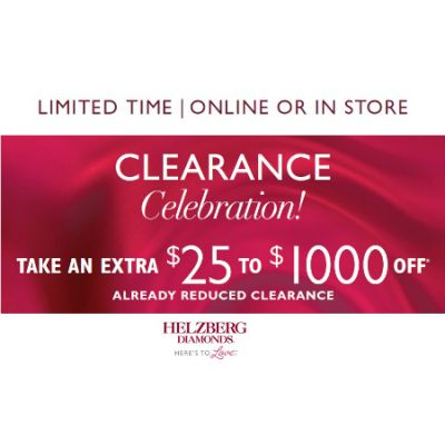 $25 to $1,000 Off Purchases of $199 to $7,499 or More*