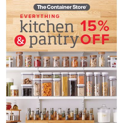 Kitchen and Pantry Sale!