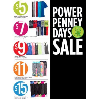 Power Penney Days Sale