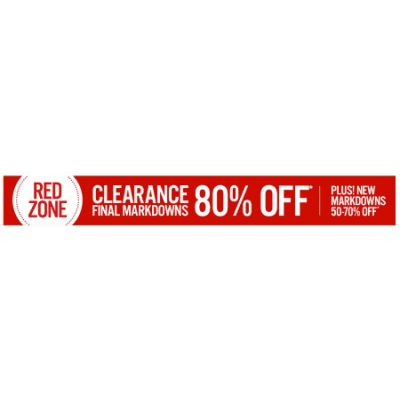 End of Season Clearance 80% Off