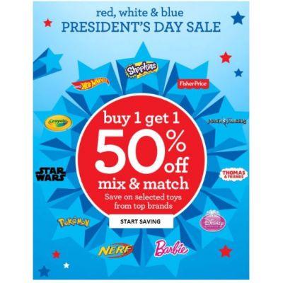 BOGO 50% Off Top Brands