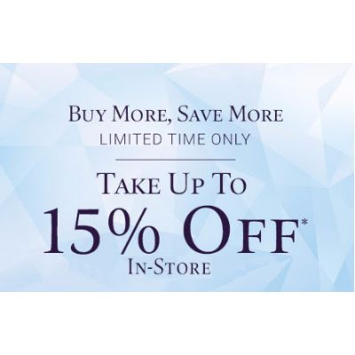 Up to 15% Off Sale