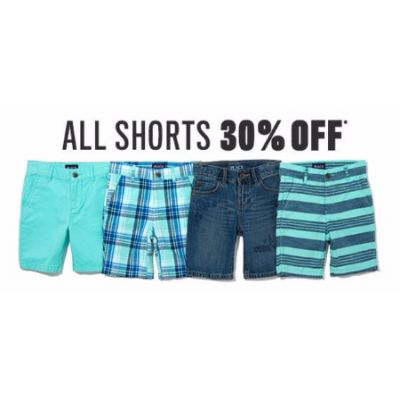 All Shorts 30% Off