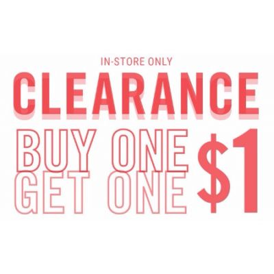 BOGO $1 Clearance