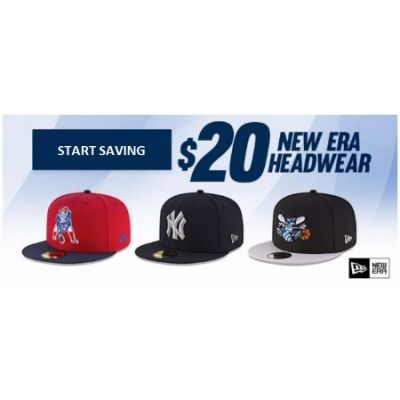 $20 New Era Headwear
