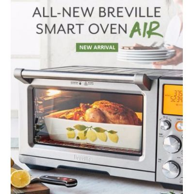 Announcing the All-New Breville Smart Oven Air