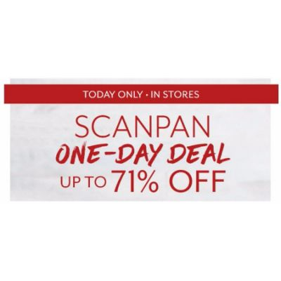 Scanpan One-Day Deal up to 71% Off