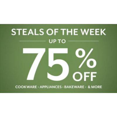 Steals of the Week up to 75% Off